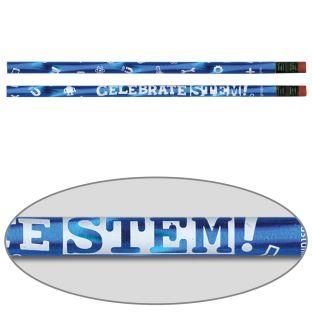 Celebrate STEM! Pencils - 12 pencils