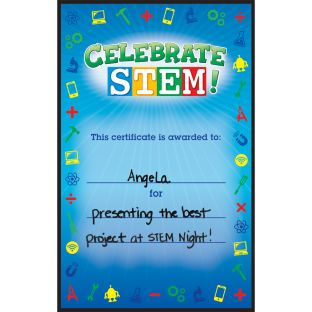Celebrate STEM! Certificates