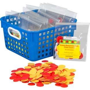 Classroom Manipulatives Kit - 2-Color Counters