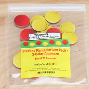 Student Manipulatives Pack - 2-Color Counters