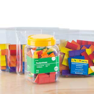 Teacher And Student Manipulatives Kit - Pentominoes