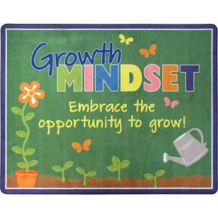 Growth Mindset Classroom Rug