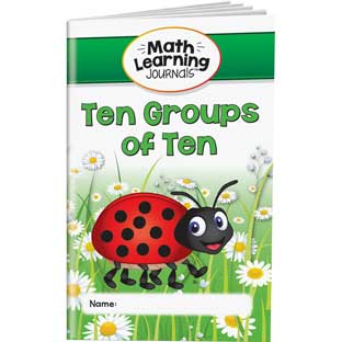 Math Learning Journals™ - Ten Groups Of Ten - 24 journals