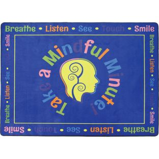 Take A Mindful Minute Rug - Rectangular - 1 rug