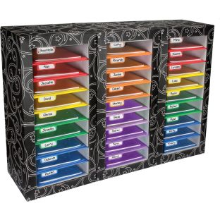 Classroom Mail Center™ - 27-Slot, 6-Color Grouping