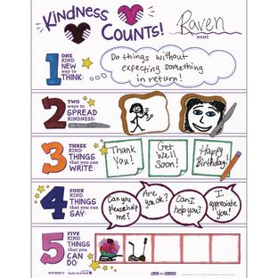 Ready-To-Decorate® Kindness Counts Posters - 24 posters