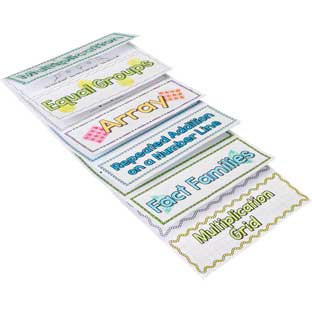 Build-Your-Own Flip Books™ - Multiplication - 24 flip books