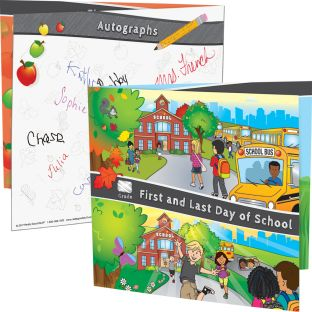 First And Last Day Of School Keepsake Frames - 24 photo holders