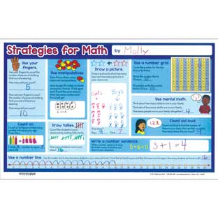 Math Strategies Activity Mats
