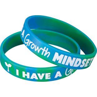 Growth Mindset Silicone Bracelets