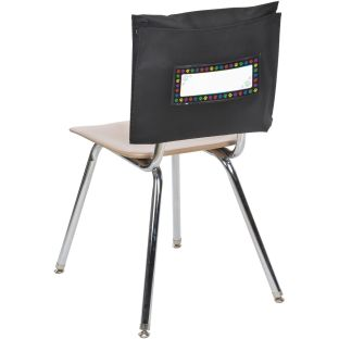 Paw Prints Store More® Deep-Pocket Chair Pockets - 6 chair pockets and name tags