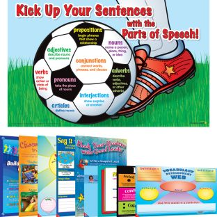 Space-Saver Poster Pack - Intermediate ELA