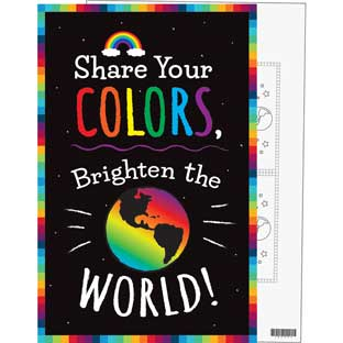 Share Your Colors! Poster