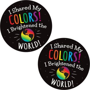 Share Your Colors! Stickers - 24 stickers