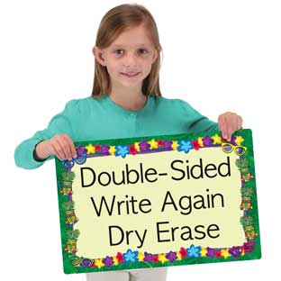 Cool-To-The-Core 2-Sided Dry Erase Board