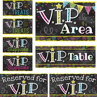 EZ Stick™ V.I.P. Labels - 8 labels
