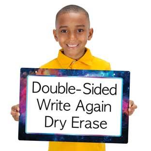 Galaxy 2-Sided Dry Erase Board