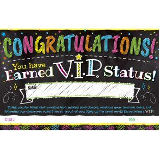 V.I.P. Certificates - 24 certificates
