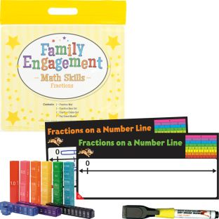 Family Engagement Math Skills - Fractions
