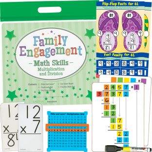 Family Engagement Math Skills - Multiplication And Division - 1 multi-item kit