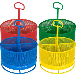 Revolving Supply Organizers - 4 Colors