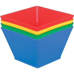 Individual Supplies Bins - 4 Colors
