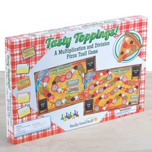 Tasty Toppings! A Multiplication And Division Pizza Trail Game