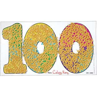 Ready-To-Decorate® 100th Day Collection Jumbo Display