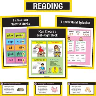Reading Center Work Office Cards - Grade 1 - 30 cards