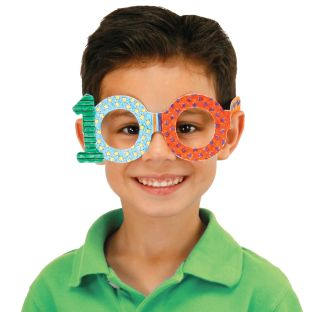 Ready-to-Decorate™ 100th Day Glasses