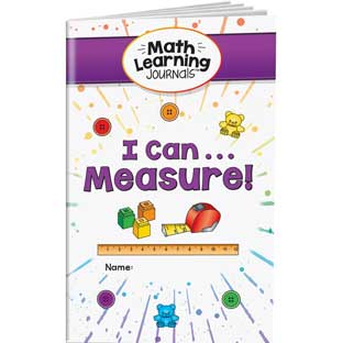 Math Learning Journals™ - I Can Measure!
