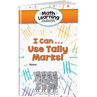 Math Learning Journals™ - I Can Use Tally Marks!