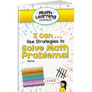 Math Learning Journals™ - I Can Use Strategies To Solve Math Problems! - 24 journals