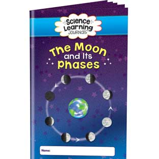 Science Learning Journals™ - The Moon And Its Phases - 24 journals