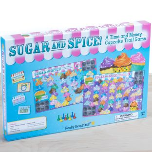 Sugar And Spice! A Time And Money Cupcake Trail Game
