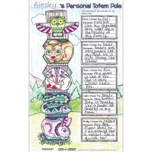 Ready-To-Decorate® Totem Pole Posters - 24 posters