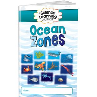 Science Learning Journals™ - Ocean Zones - 24 journals