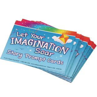 Let Your Imagination Soar Story Prompt Cards - 36 cards