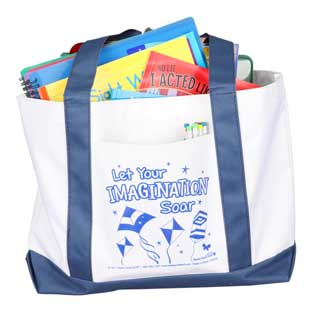 Let Your Imagination Soar Tote Bag - 1 bag