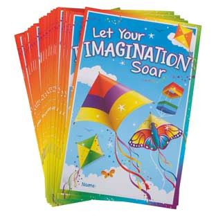 Let Your Imagination Soar Mini Journals
