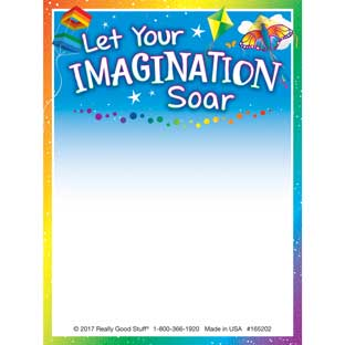 Let Your Imagination Soar Sticky Note Pads - 100 sticky notes