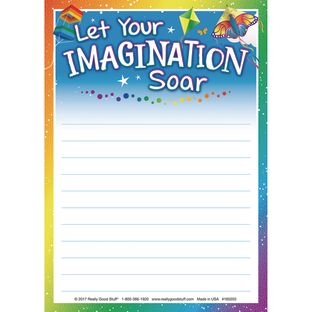 Let Your Imagination Soar Notepad