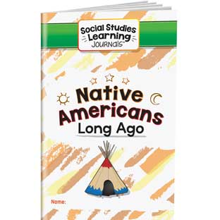 Social Studies Learning Journals™ - Native Americans - 24 journals