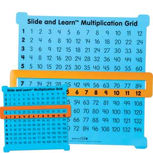 Teacher And Students Multiplication Grid Kit