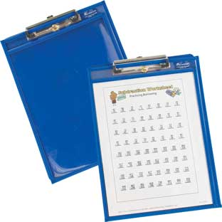 Write Again Re-Markable™ Clipboard Sleeves And Clipboards - Set Of 6