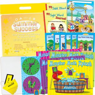 Summer Success Kit - First Grade Transitioning into Second Grade - 1 multi-item kit