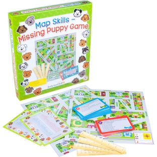 Map Skills – Missing Puppy Game