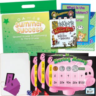 Summer Success Kit - Second Grade Transitioning to Third Grade - 1 multi-item kit