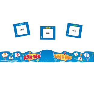 Ask Me, Tell Me Crowns Vocabulary Kit - 24 crowns, 164 cards