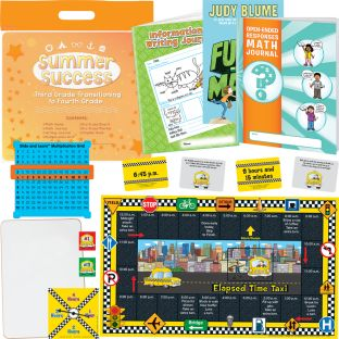 Summer Success Kit - Third Grade Transitioning to Fourth Grade - 1 multi-item kit
